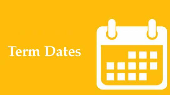 Key Dates for The Autumn Term 2017