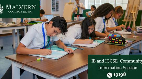 IB & IGCSE Community Information Session
