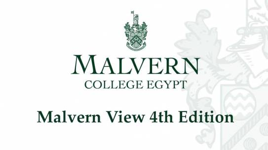 Announcement for Malvern View 4th Edition