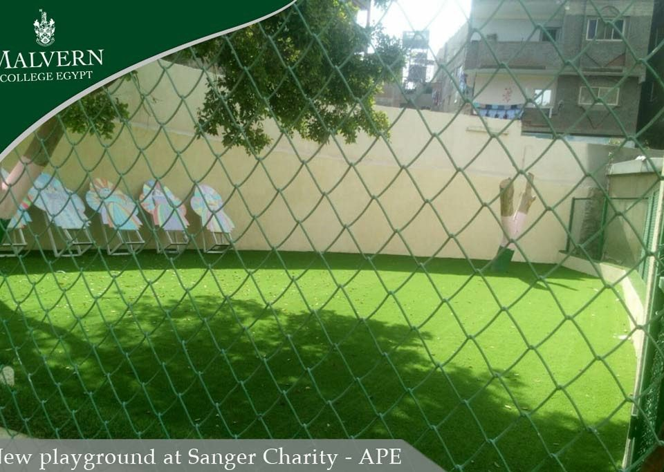 New play ground at Sanger Charity APE
