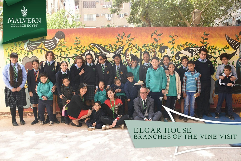 Elgar House Branches of the Vine Visit