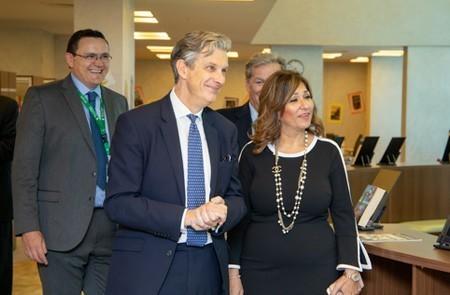 British Ambassador to Egypt Visits MCE