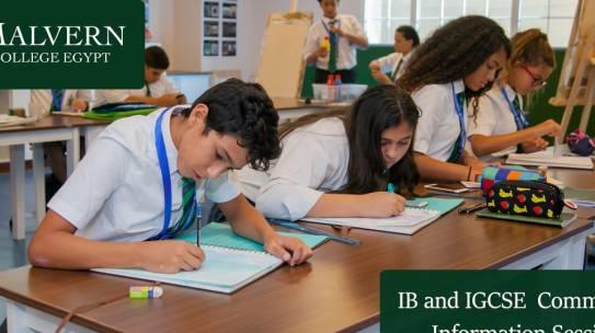 IB & IGCSE Community Information Session