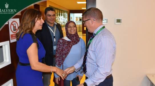 Dr. Moataz Abd El- Fattah Visit