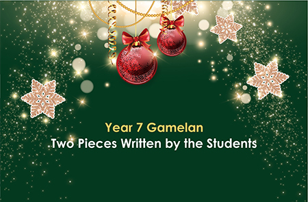 Year 7 – Gamelan Two Pieces