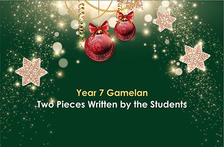 Year 7 – Gamelan Two Pieces