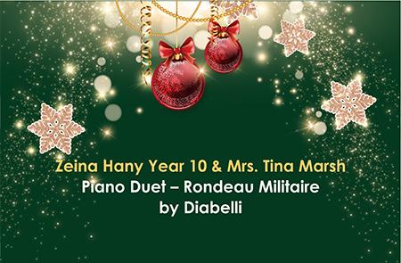 Year 10 – Piano Duet