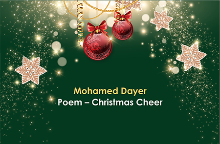 Mohamed Poem – Christmas Cheer