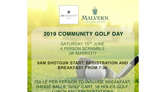 Community Golf Day June 2019
