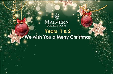 Year 1 & 2 Merry Christmas