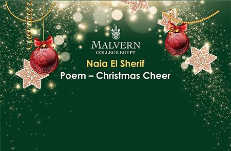 Naia Poem – Christmas Cheer