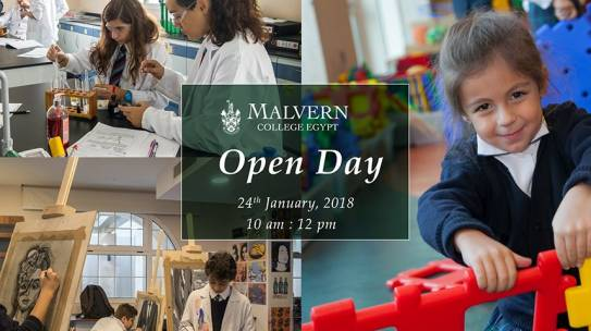Open Day 24th January