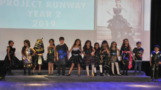 Year 2 Project Runway 2018/19