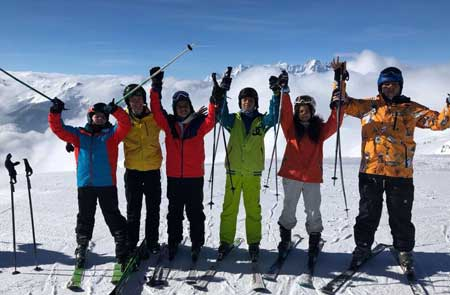 Highlights from Ski Trip 2018