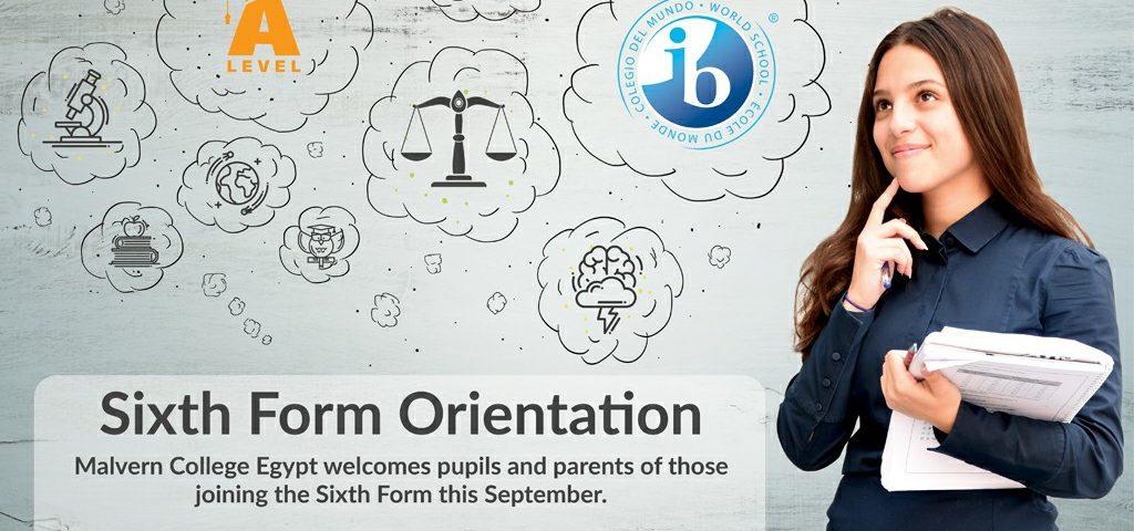 Sixth Form orientation