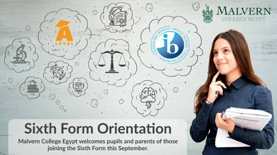 Sixth Form Orientation 2019