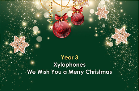 Year 3 – Merry Christmas
