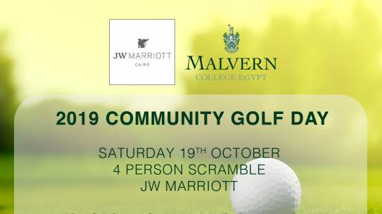 COMMUNITY GOLF DAY October 2019