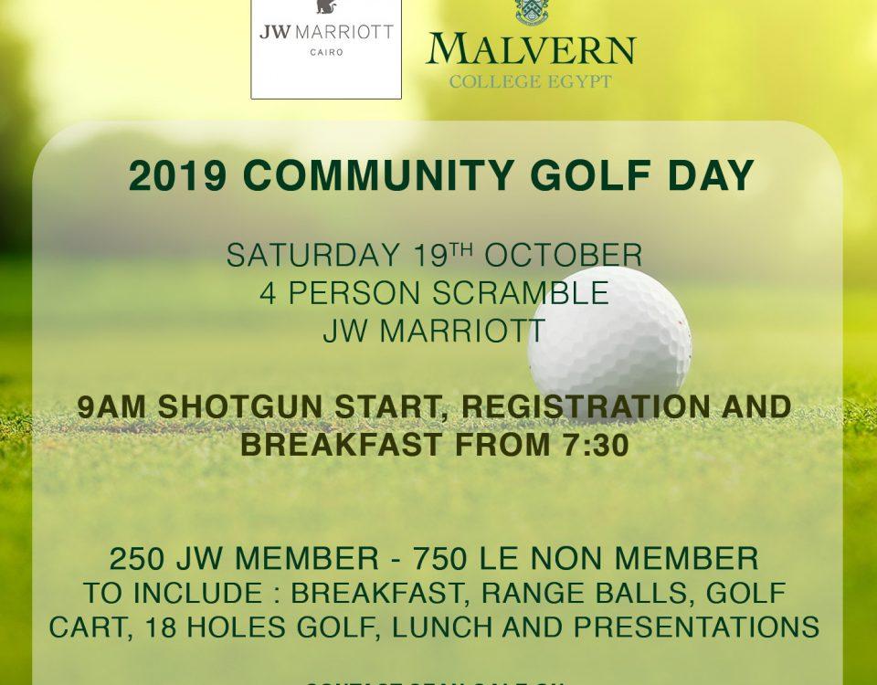 Community Golf day 2019