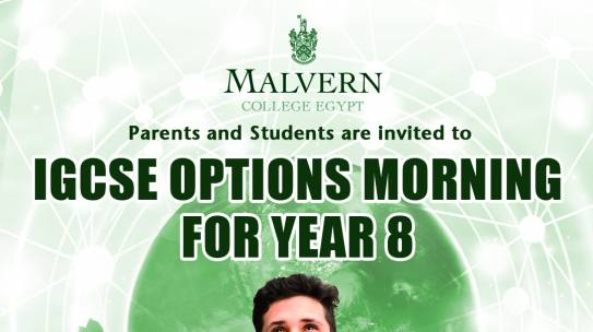 IGCSE Options Morning for Year8