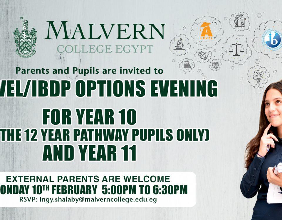 A Level-IBDP Options Evening