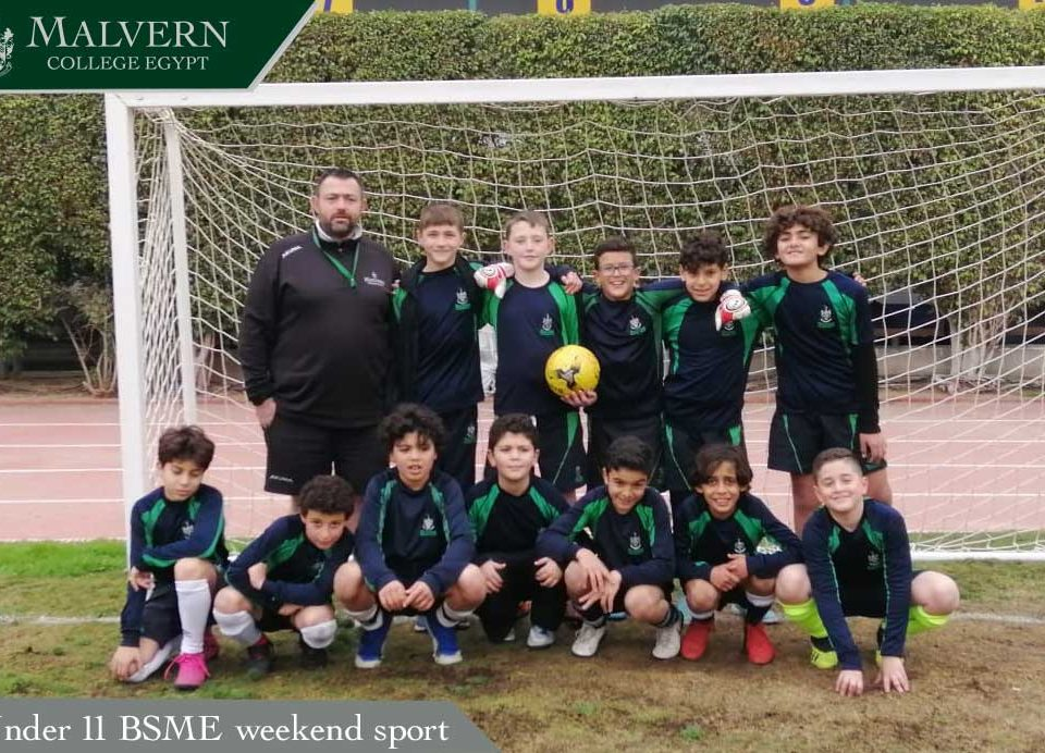 Under 11 BSME weekend sport