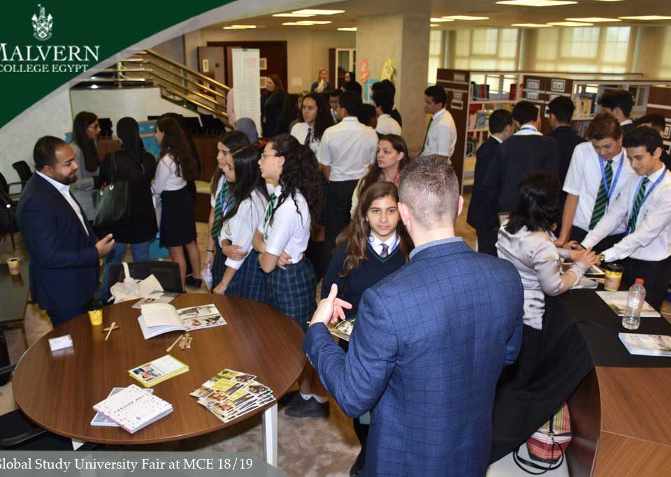 Global Study University Fair at MCE