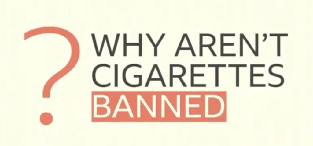 Why aren't cigarettes banned? - BBC My World