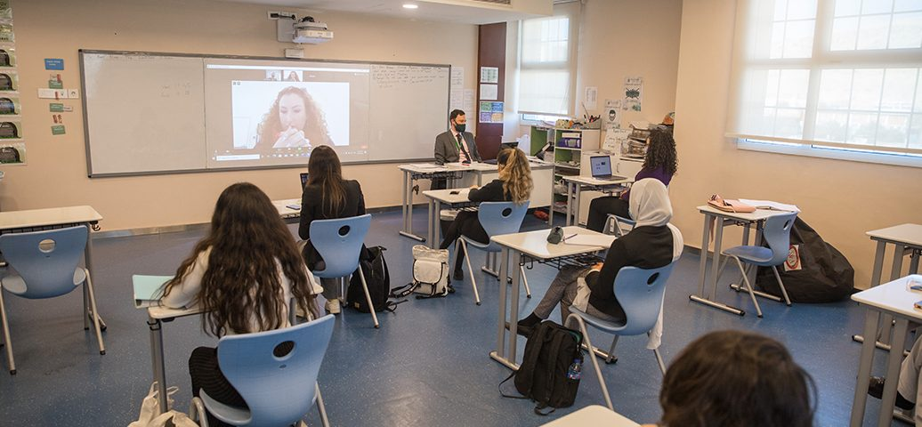Dr Nixons Zoom Lecture with Sixth Form