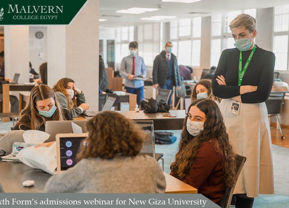 Sixth Form's admissions webinar